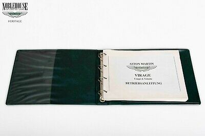 Aston Martin Handbook Virage German
