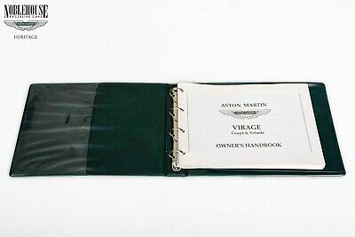 Aston Martin Handbook Virage English