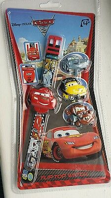 Digital  kids Watch Disney-Pixar Cars 4+years with 3 changing leds