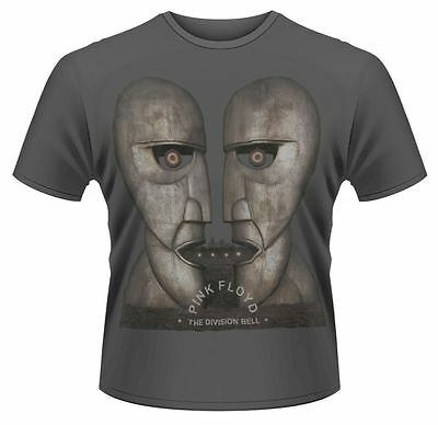 Pink Floyd T Shirt The Division Bell Officially Licensed Mens Grey Rock Merch