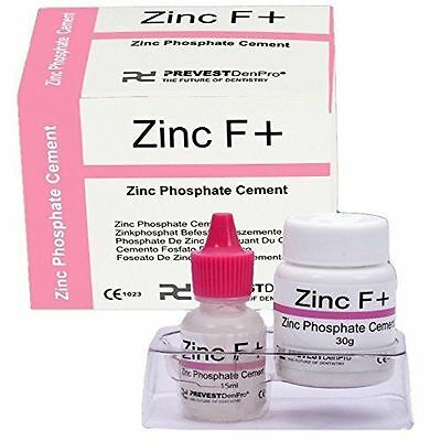 PERMANENT TOOTH FILLING DENTAL CEMENT KIT Zinc Polycarboxylate Cement ZINC F+ E