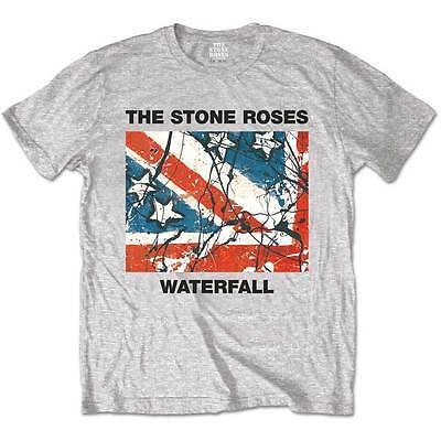 The Stone Roses T Shirt Classic Waterfall Officially Licensed Mens Rock Merch