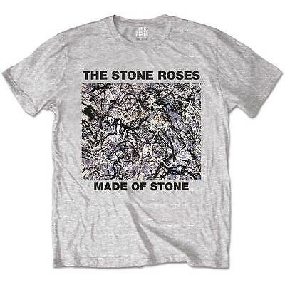The Stone Roses T Shirt Made Of Stone Officially Licensed Mens Tee Rock Merch