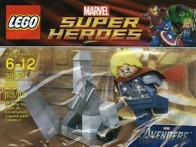 Lego Marvel Super Heroes Thor & the Cosmic Cube 30163 Polybag BNIP