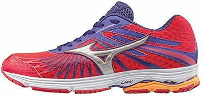 Wave Rider 20 (w), Chaussures de Running Entrainement Femme, Rose (Diva Pink/Silver/Liberty), 36 EUMizuno