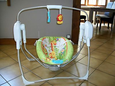 balancelle bebe fisher price
