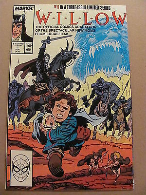 Willow #1 Marvel Comics 1988 Official Movie Adaptation 9.4 Near Mint