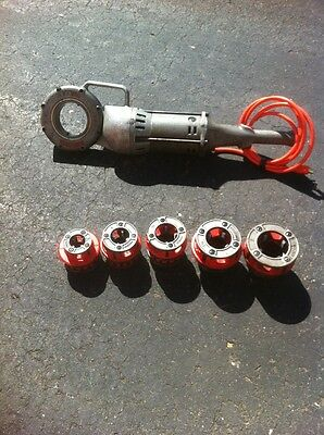 "Ridgid 700 -- FULLY REBUILT W/ Full Die Set 3/4""-2"" rigid power pony 300"