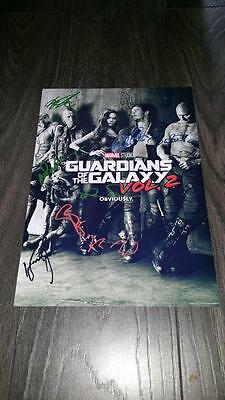 "Guardians Of The Galaxy 2 Pp Signed 12""x8"" A4 Photo Poster Chris Pratt"