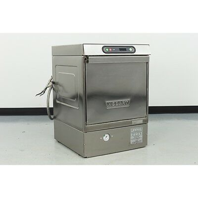 "Used Hobart LX30H High Temp 17"" Opening Undercounter Dishwasher"