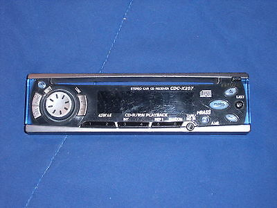 Aiwa Cdc-X207 Faceplate  Only