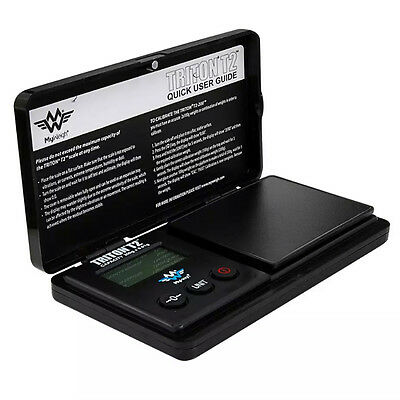 Triton T2 Digital Scale Myweigh Pocket Precision Table Top Scales 200g x 0.01g