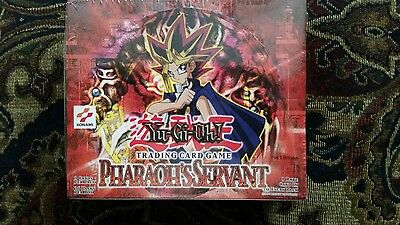 Yugioh Pharaohs Servant 1st Edition 36 pack new factory sealed box in Mint Cond.