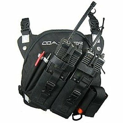Coaxsher DR-1 Commander Dual Radio Chest Harness New