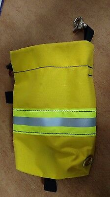 Personal Escape And Rope Bag With Reflective Strip And Clip New Yellow