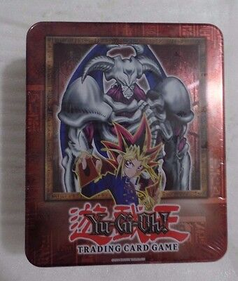 YU-GI-OH Summoned Skull Tin New GEM Mint condition Sealed Perfect Extremely Rare