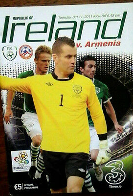 Republic Of Ireland V Armenia 11/10/2011 Euro Championship