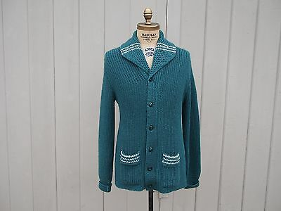 Vintage Mountaineer by Caldwell Shawl Collar Sweater 1920s 1930s