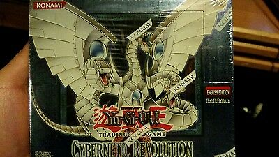 YuGiOh CYBERNETIC REVOLUTION New Factory Sealed Box 1st Edition GEM Mint Cond.