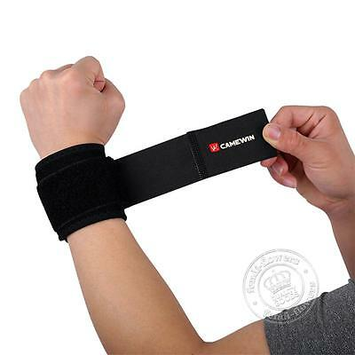 Neoprene Wrist Support Brace Strap Gym Weight Lifting Sprains Arthritis Strains