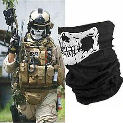 Skull Bandana Scarf Combat Motorcycle Face Covering Call of Duty Gaming [NEW]