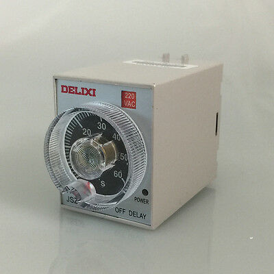 Delixi JSZ3F Power-Off Delay Relay