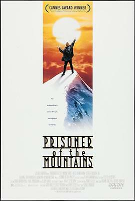 "PRISONERS OF THE MOUNTAINS - 27""x40"" D/S Original Movie Poster One Sheet Bogdrov"