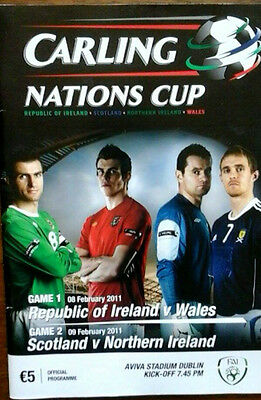 Republic Of Ireland V Wales 8/2/2011 Nations Cup