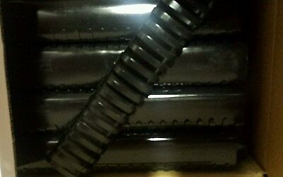 """Lot Of 10 Black 2"""" Binding Combs Oval 19 Ring Spines (Gbc 4200022 Compatible)"""
