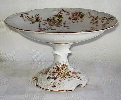 Carl Tielsch Porcelain Footed Dish (Germany)