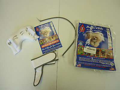 Muffin's Halo Guide for Blind Dogs, X-Small - White