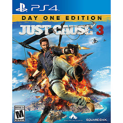 Just Cause 3 - Day One Edition PS4 [Brand New]