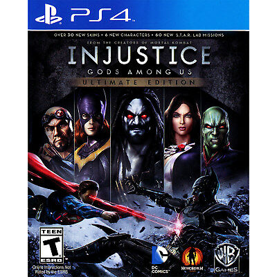 Injustice: Gods Among Us Ultimate Edition PS4 [Brand New]