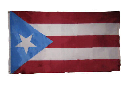 3x5 Light Blue Puerto Rico Rican Flag 3'x5' House Banner Brass Grommets