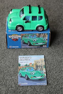 Brand New 1996 Chevron Toy Cars- Wendy Wagon (still in box)