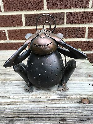 Metal Monkey Tea Light Candle Holder, Sit or Hang, Inside or Outside