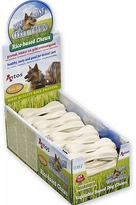 Antos Rice Bone ~ Rice-Based Chews x 6 ~ Tasty & Good for Dental Care