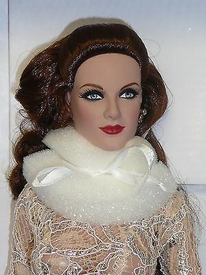 Tonner 25th Convention Centerpiece Doll DeDe in White Dress w/Jewelry, No Stand