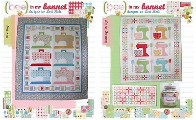 BUNDLE LORI HOLT Bee in my Bonnet Sewing Pattern: Sew Day PLUS Mixing It Up