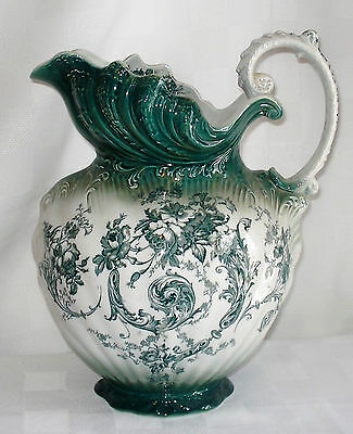 BAKER & Co. WATER PITCHER (ENGLAND)