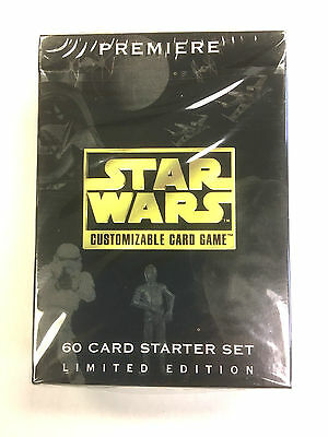 STAR WARS Customizable Card Game PREMIERE STARTER SET Limited Edition!!
