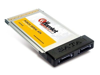 Hamlet XSATACB SATA PCMCIA SATA interface cards/adapter - interface (X9E)