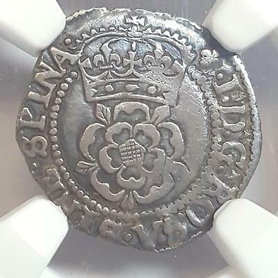 Great Britain 1604-09 James I 2 Pence Half Groat S-2659 VF 25 NGC SCARCE
