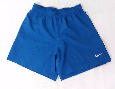 Nike Dri-Fit Royal Blue Color Kid's Shorts Size Youth Small