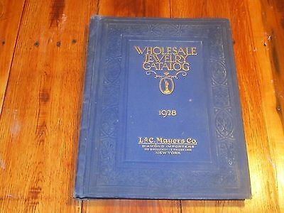 Vintage 1923 L & C Mayers Co. New York Wholesale Catalog gold jewelry Diamond