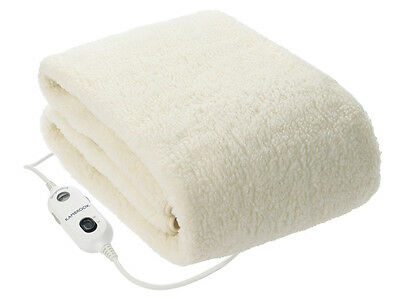 New Kambrook Fleecy Cover Fitted Electric Blanket Single (3 Year Warranty)