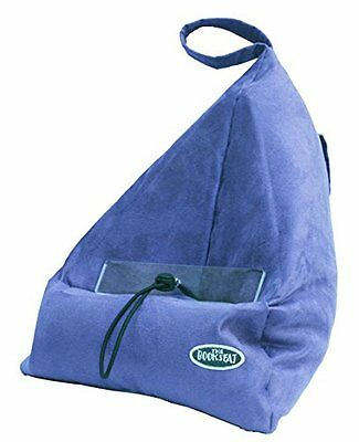 BOOK SEAT, Supporto per libri, tablet, PC con taschino, Blu (Blau) (f4h)