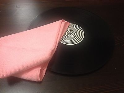 Specialist Microfibre [Vinyl Record Cleaning/Care] Eco-Professional Cloth 2for1