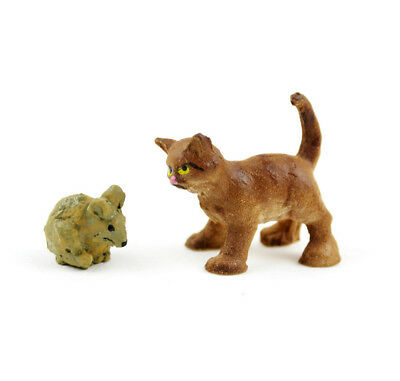 My Fairy Gardens Mini - Mini Cat And Mouse - Supplies Accessories