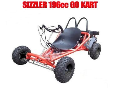 ZUMA SIZZLER 196cc Kids Go Kart Buggy Fully Automatic Quiet Four Stroke Engine